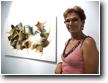 SA TARONJA artists in residence - here: painter Anna Dross