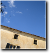 The BLUE SKIES of Mallorca - Sa Taronja's main house with the Cultural Centre's office and the Restaurant Limón y Chelo